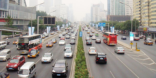 Beijing city officials passed legislation that will heavily fine drivers who are operating...