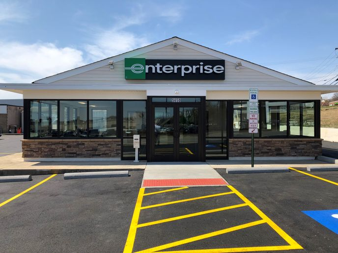 The Enterprise Branch in Alexandra, Va. Photo courtesy of Enterprise.