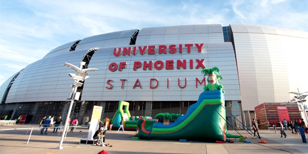 The University of Phoenix Stadium is one of the facilities partially funded by the rental tax...