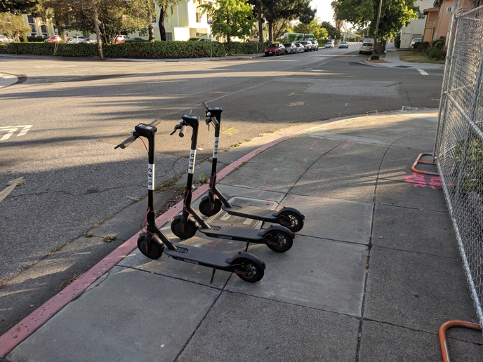 While there are no current scooter bans in Santa Monica, Bird and Lime temporarily deactivated their scooters yesterday as an act of protest against operator regulations.