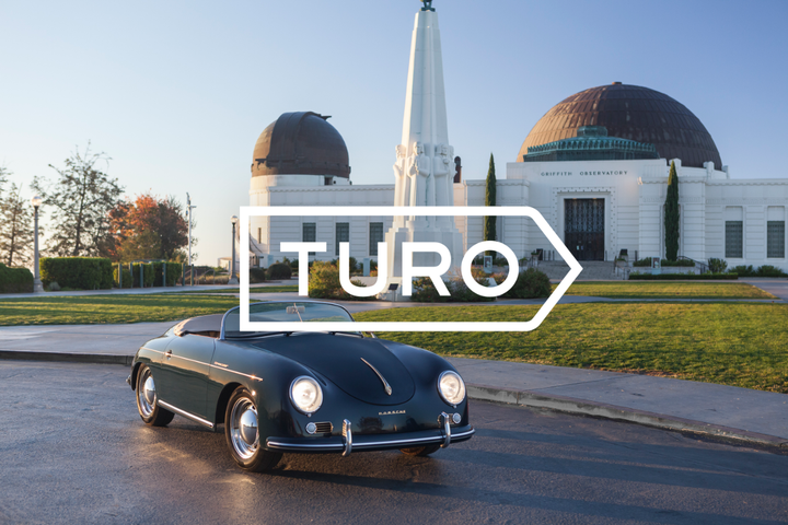 Turo is now the largest peer-to-peer rental company after $250 million Series E funding. - Screenshot via Turo.
