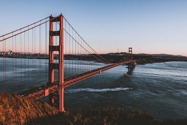 The city attorney claimed Hertz misled its customers about how to avoid PlatePass and its expensive fees by using the free and convenient payment options offered by the Golden Gate Bridge. - Photo via soomness/Flickr.