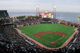 National Named Official Car Rental of SF Giants, Chicago Cubs