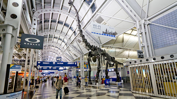 Chicago Airport Opens 242m Centralized Car Rental Parking Facility