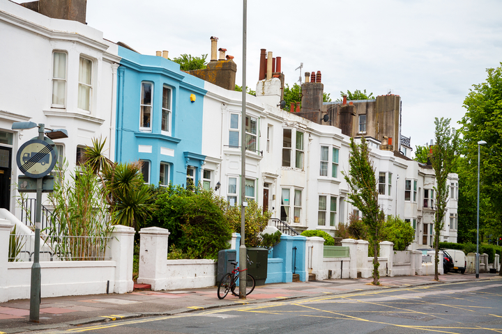"""Brighton, which has been dubbed """"the Greenest city in Europe,"""" is home to numerous sharing operations, including house, bike, and a car club.  - Photo via Depositphotos."""
