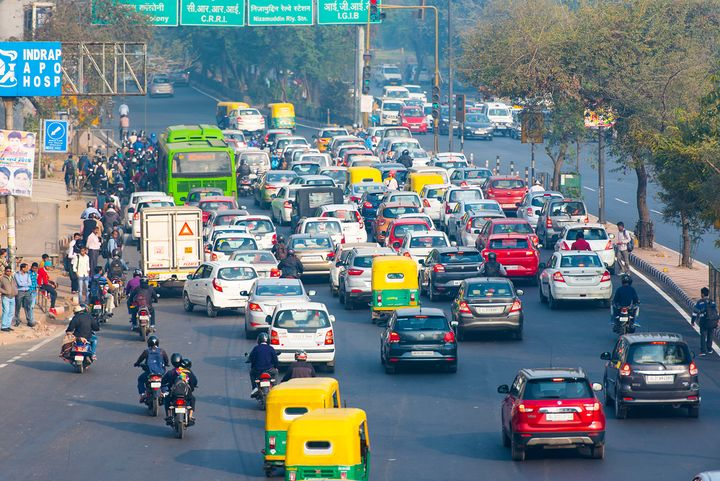According to online statistics, 23.8 million people in India use car rental services.  - Photo via Depositphotos.