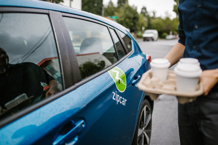 The vehicles are part of a zero-emissions initiative with Volkswagen. - Photo courtesy of Zipcar.