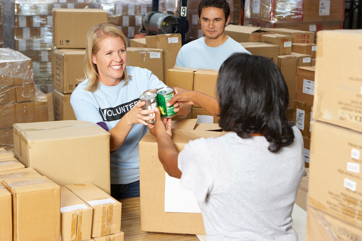 The Southern California-based food bank received thousands of dollars this year as part of the food drive. - Photo via Depositphotos.