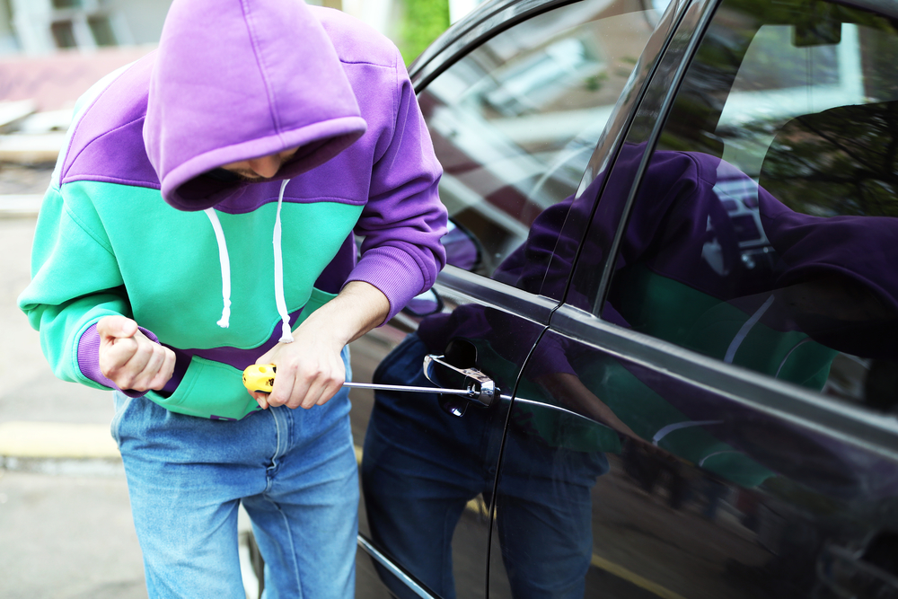 Suspected Rental Car Thief Arrested for 17th Time