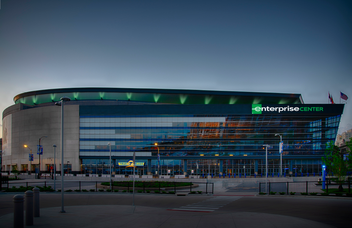 Enterprise has been an Official Partner of the NHL for nearly a decade. Photo: Enterprise Center