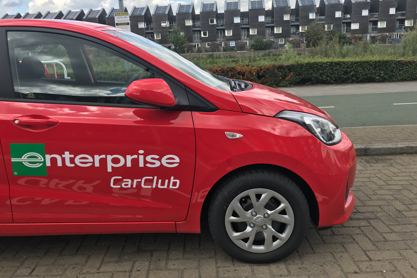 Enterprise Car Club has six car club vehicles around the city, located by the town hall, the Red...