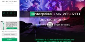 Enterprise Celebrates Customers, Launches Fan-Ticketed Concert Campaign