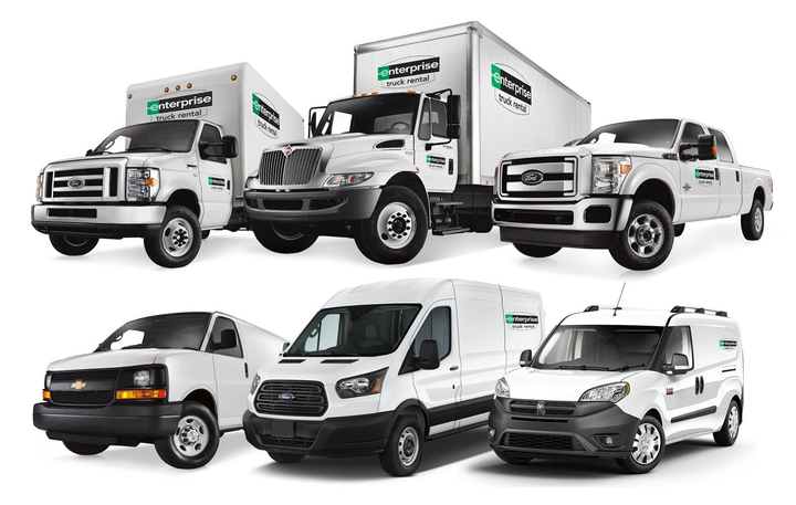 The new Fargo, N.D., Enterprise Truck Rental location provides access to a wide range of cargo vans, box trucks, and tow-capable pickup trucks for both business and personal use. - Photo courtesy of Enterprise.