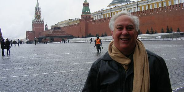 Richard Brodsky, seen in Moscow's Red Square, traveled to Russia in 2010 to take part in a...