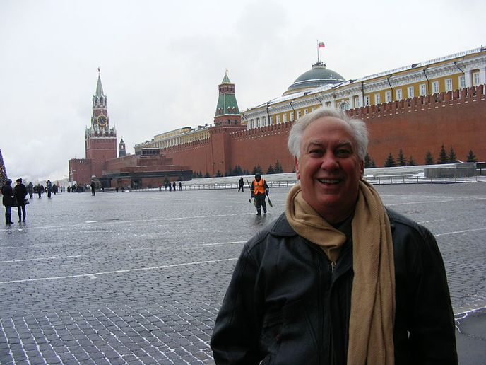 Richard Brodsky, seen in Moscow's Red Square, traveled to Russia in 2010 to take part in a conference on the resurgence of Nazism around the world. - Photo via Wikimedia Commons/Petri Krohn.