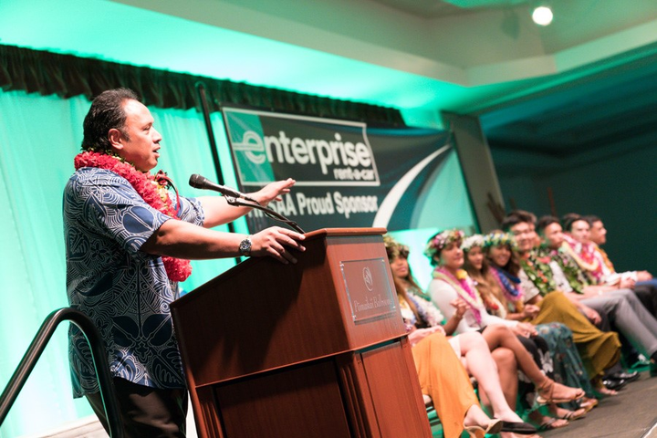 Enterprise Holdings is sponsoring the Hawaii High School Athletic Association Hall of Honor and providing college scholarships to 12 local high school seniors.  - Photo courtesy of Enterprise.