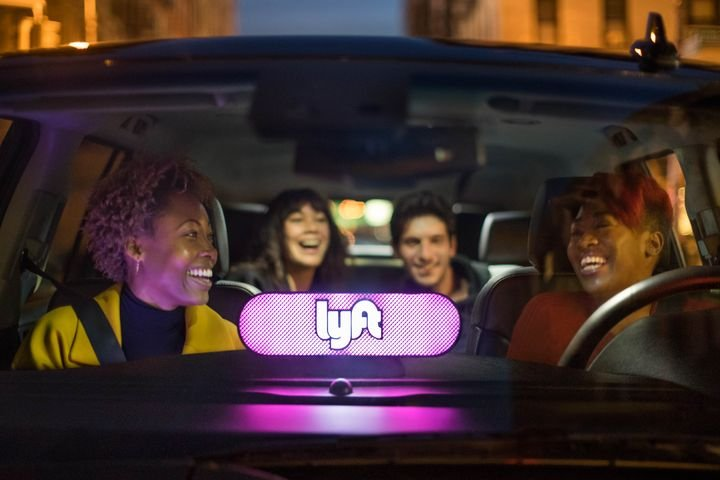- Photo via Lyft.