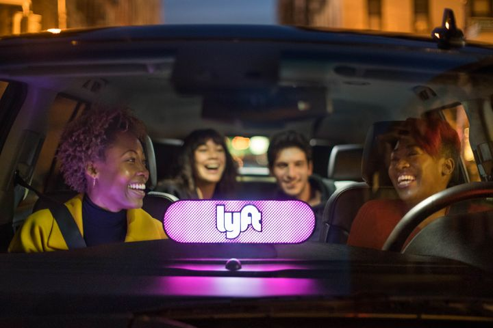In particular, the simulation looked at the future of autonomous taxis and their potential impact on ride-hailing.  - Photo via Lyft.