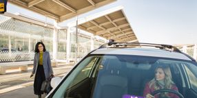 California Airport Offers Free Lyft Rides to Train Stations