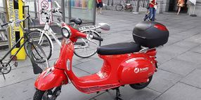 Europcar Acquires Belgian Scooter-Sharing Startup