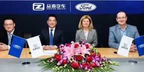 Ford, Zoyte to Provide Electric Vehicles for Chinese Ride-Hailing