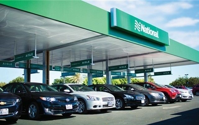 On a scale of one to five, with one being poor and five being excellent, National Car Rental earned a rating of 4.44. 
