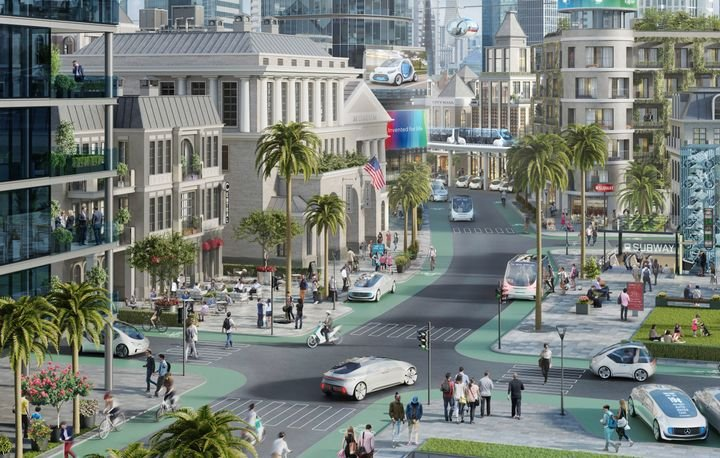 In the second half of 2019, Bosch and Daimler will offer customers a shuttle service with automated vehicles on selected routes in a Californian city.  - Photo courtesy of Daimler.