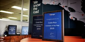 Budget Costa Rica Wins Licensee of the Year