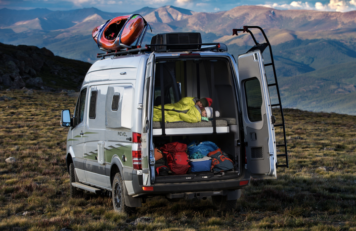 Founded by tech entrepreneur Jonathan Distad, Blacksford also curates road trip experiences by connecting travelers with vetted campsites, guides, and other hand-picked attractions. - Photo via Blacksford.