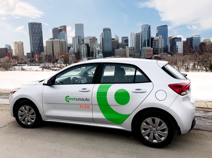 The new policy allows free-floating carsharing services to operate using a three-tiered fee structure. - Photo courtesy of Communauto.