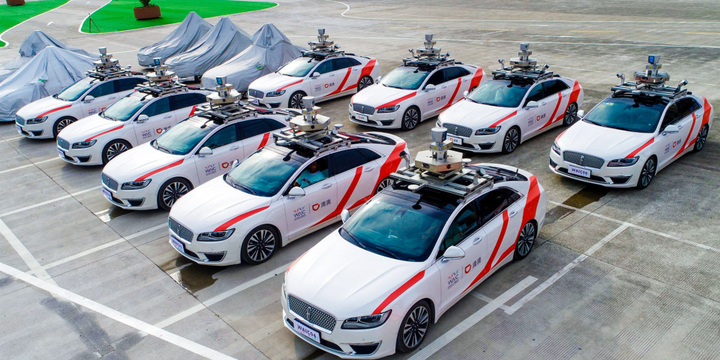 Cheng Wei, founder and CEO of Didi Chuxing, made the announcement at Shanghai's World Artificial Intelligence Conference, where Didi is showcasing robo-taxi hailing with its autonomous driving fleet on a closed track.   - Photo via Didi.