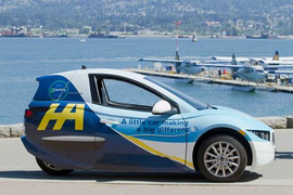 Electra Meccanica, Harbour Air Partner for Fully-Electric Carsharing Option
