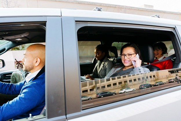 The PVIP, available to all Pennsylvania commuters, is expected to decrease commuting costs for riders by more than 50%. Currently, there are more than 50 PVIP vanpools, with seven-passenger vans (an average of six passengers each) accounting for approximately 90% of the vehicles.  - Photo via Enterprise.