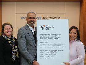 Enterprise Signs Disability Inclusion Pledge