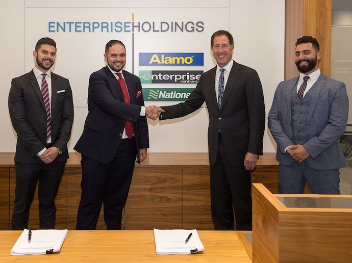 As part of the partnership, Premier Auto Rentals will have full access to Enterprise's technology and booking platforms that provide a seamless digital experience for both business and leisure customers.  - Photo via Enterprise.