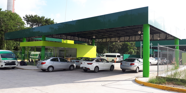 Europcar's at the location Cancun Airport.