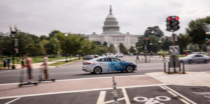 In partnership with the D.C. Infrastructure Academy, Ford will be training locals as vehicle operators, who will be responsible for monitoring and operating test vehicles. 