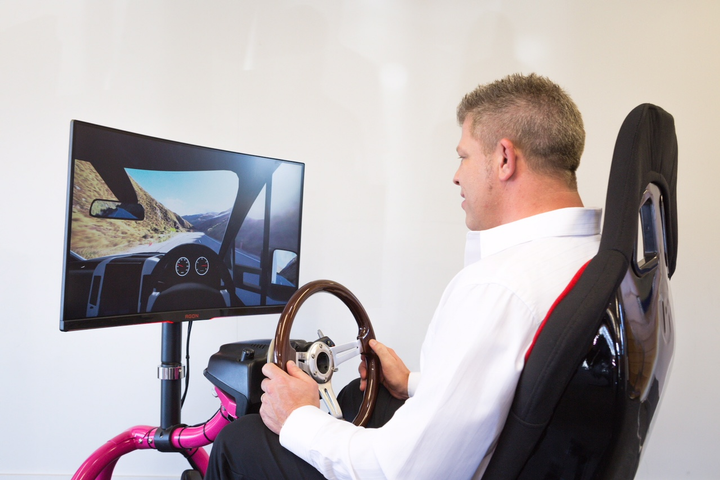 GO Rentals Managing Director James Dalglish believes the simulator will help not only tourists, but New Zealanders as well.  - Photo courtesy of GO Rentals.