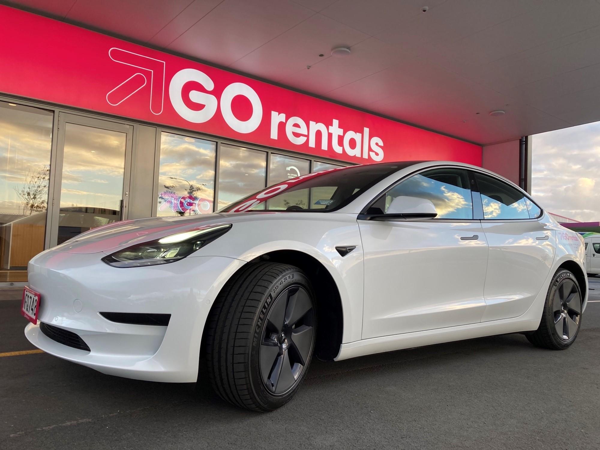 GO Rentals Adds Tesla Model 3 to Fleet