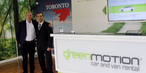 The Green Motion master franchise for Canada was recently acquired by the entrepreneur Pablo...