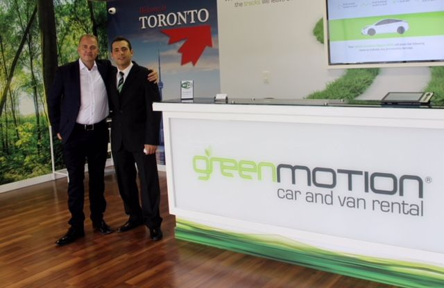 The Green Motion master franchise for Canada was recently acquired by the entrepreneur Pablo Mendoza, who also co-owns the master Green Motion franchise for the Dominican Republic in partnership with Kildare Guerrero.