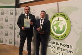 Green Motion Wins Green World Environment Award
