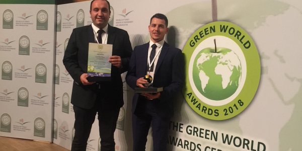 Green Motion's winning paper will be published in The Green Book, the leading international work...
