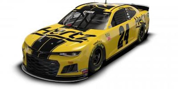 Hertz began its sponsorship of Hendrick Motorsports and the No. 24 team in May 2018.