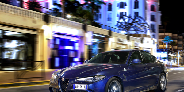 The most powerful production Alfa ever, the four-door grand tourer is equipped with a...