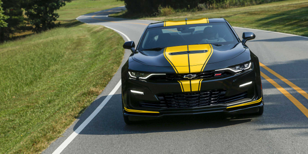 Throughout Fall 2019, only 224 custom Camaros will roll into Hertz airport locations in select...