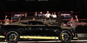 Hertz Donates Custom Camaro to Raise Money for Charity