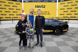 Hertz Announces Custom Camaro Sweepstakes Winner
