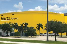 Hertz Secures Naming Rights For Florida Everblades' Home Rink