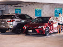 Seventy Toyota and Lexus vehicles are available for reservation through the Hui mobile app (for iOS and Android devices) by the hour or day at 25 easily accessible locations throughout Honolulu.